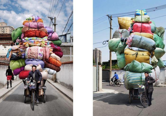 Что можно перевезти на велосипеде
