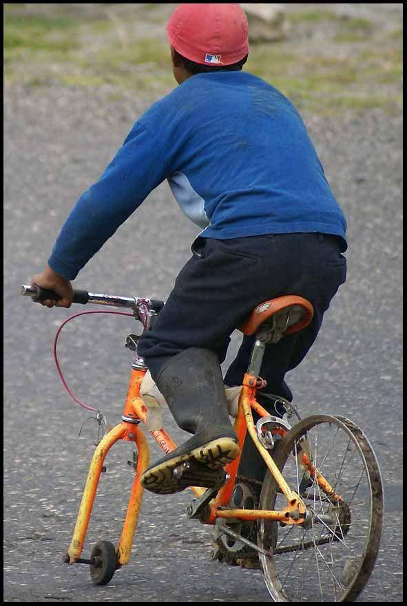 Велосипед необычный