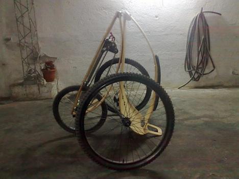 Необычный велосипед лигерад Гепард