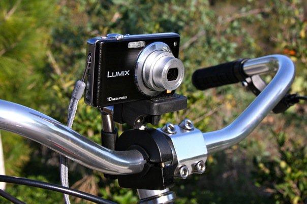 велосипедный держатель для фотоаппарата