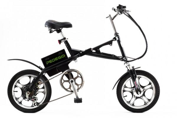 Складной электро велосипед