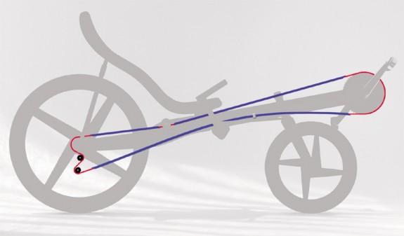 recumbent лежачий велосипед