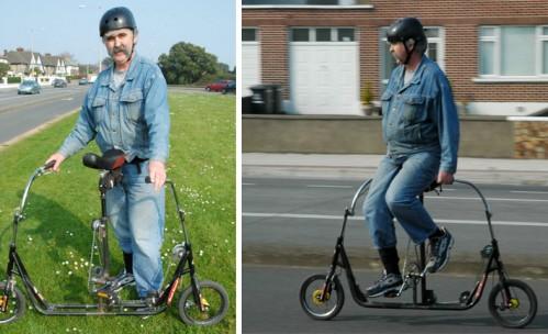 Двусторонний велосипед