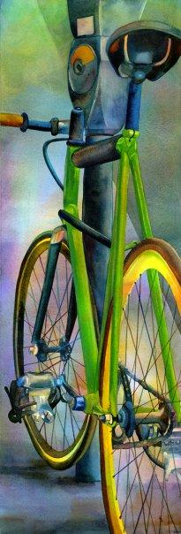 Рисованые велосипеды