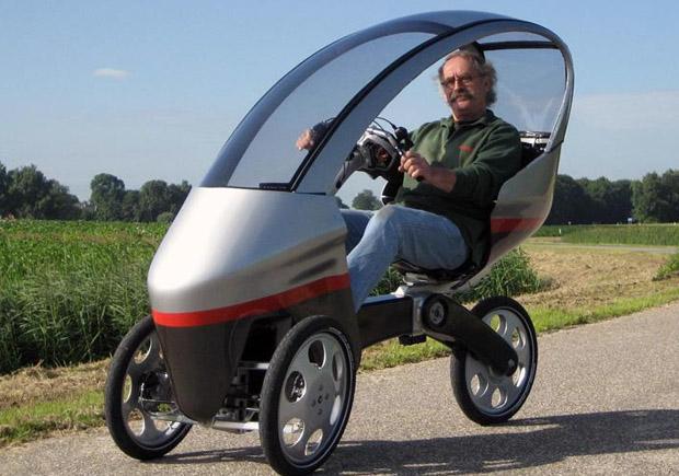 Электрический велосипед Drymer v0.5