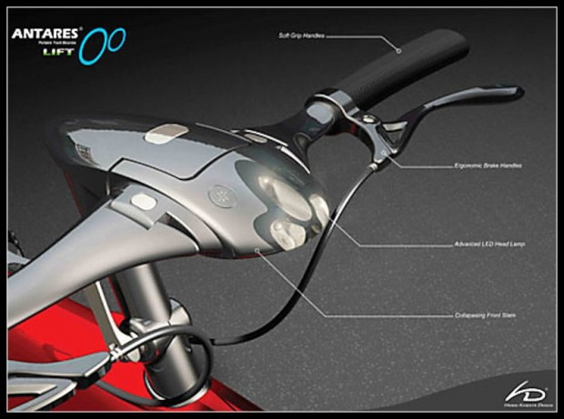 Переносной велосипед Антарес antares