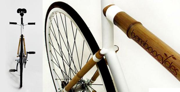 Бамбуковый велосипед baboo bike