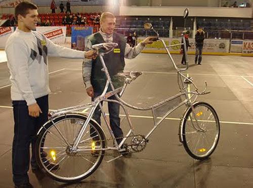 Велосипед для Великана big bike