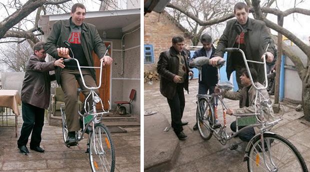 Велосипед для Великана
