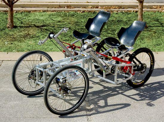 Велосипедные сидения Moonbuggy
