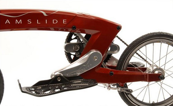 Стоячий велосипед – Dreamslide bike