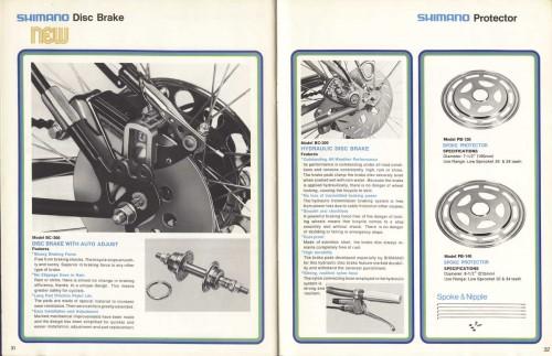 гидравлика от Shimano 1975