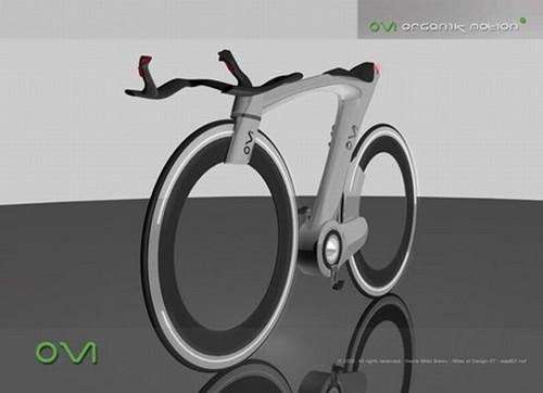 Organik Motion Bike – велосипед как экологически чистый транспорт