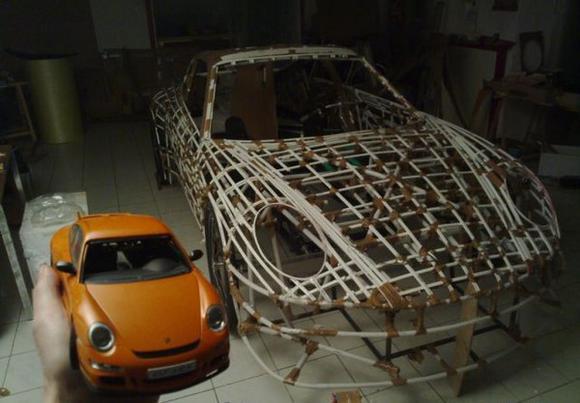 Велосипед Porsche своими руками