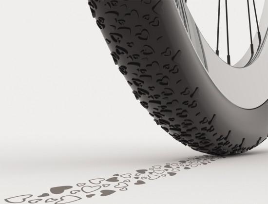 Велосипедные шины от дизайнера Хамеда Кохана