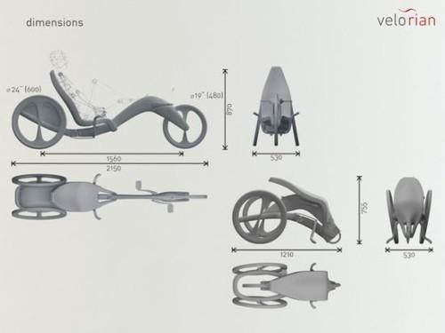 «Velorian» рекумбент от Мантаса Палима