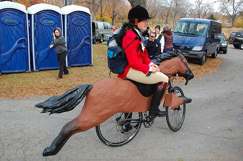 Велосипед лошадка
