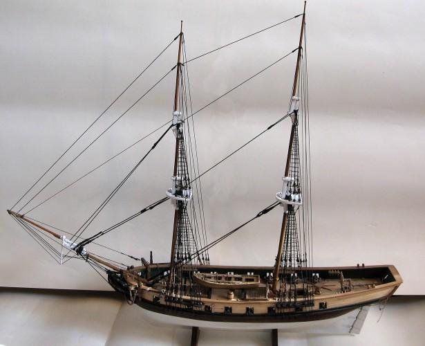 Американский бриг 1812 года