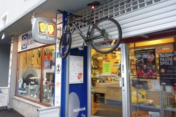продуманная велосипедная парковка