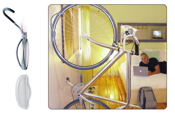 Крючечек для хранения велосипеда