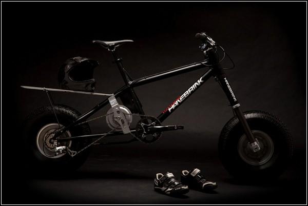 Электрический велосипед внедорожник Hanebrink