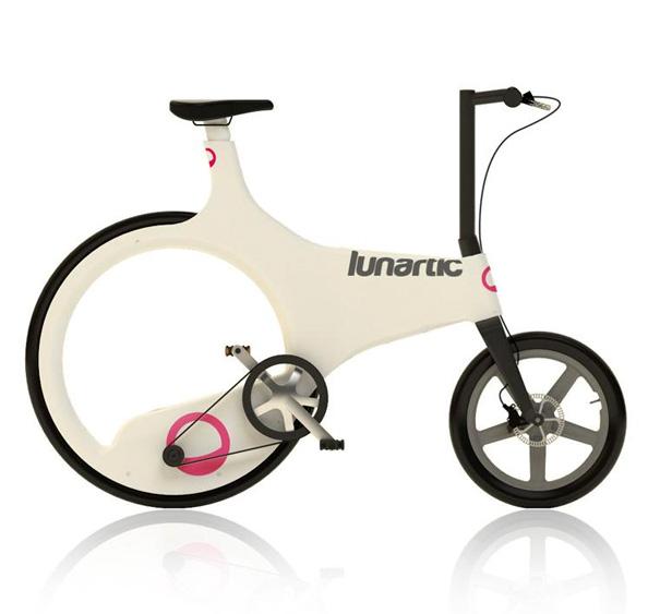 Велосипед без задней оси lunartic bike