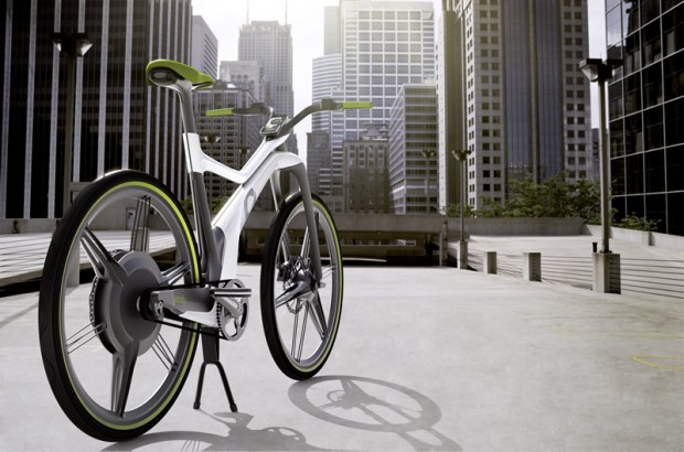 Велосипед от мерседес mercedes E-Bike Biz