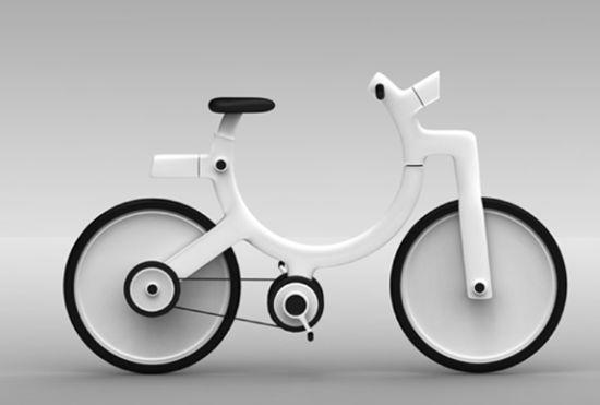 Велосипед Молекула molecule cycle yongjin lee