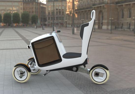 Электрический городской велосипед – STEM