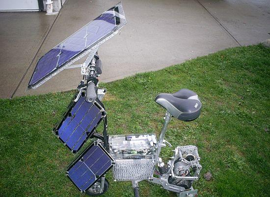 Солнечный велосипед THEKPV