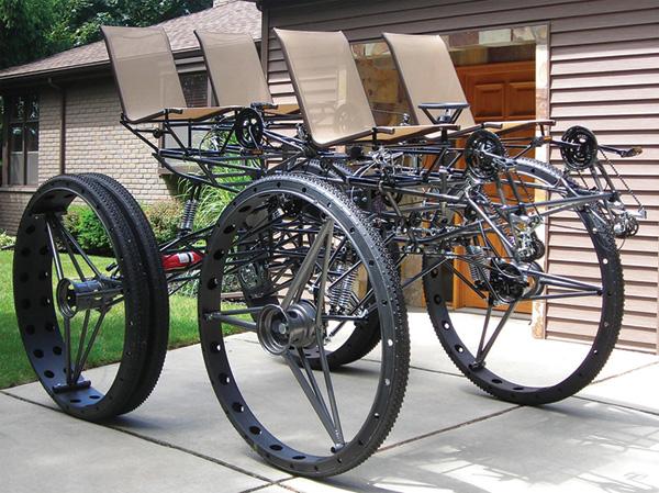 велосипед для четырех – BigDog
