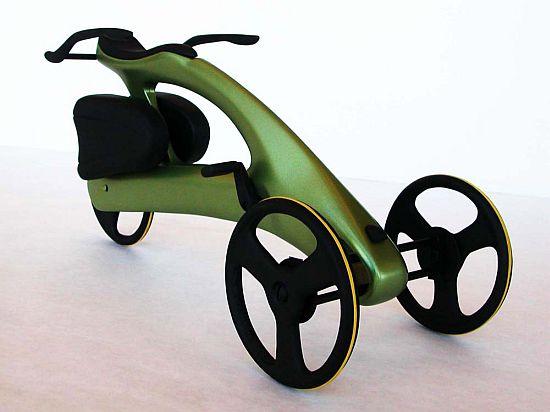 Valetudo - трехколесный велосипед