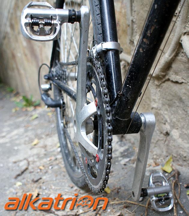 Велосипед alkatrion bike вид сверху