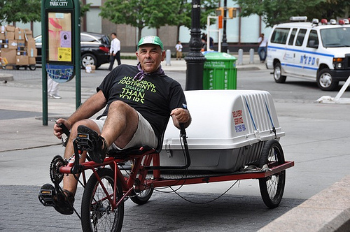 Самый популярный транспорт – велосипед bike old