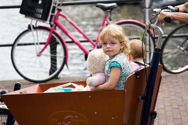Самый популярный транспорт – велосипед bike people
