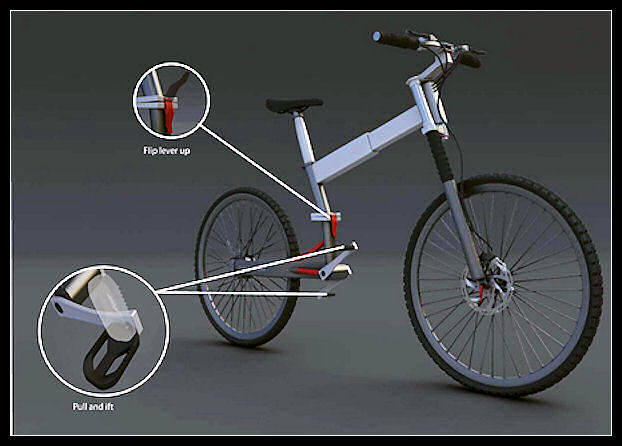Cкладной велосипед IziBi