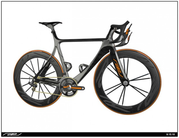 Evan Solida Rael Road Bike Concept