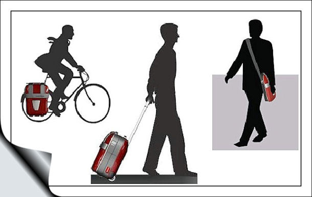 велосипедная корзинка bike baskett PakNgo