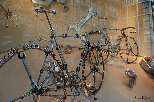 железный велосипед iron bike