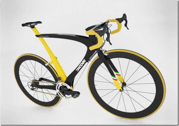 Picchio – карбоновый велосипед от Николы Гуида