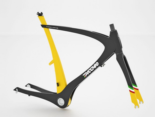 Picchio – карбоновый велосипед от Николы Гуида bike frame