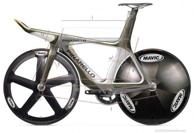 Велосипед от Torkel Dohmers Creative Lab vs Pinarello Montello Pista