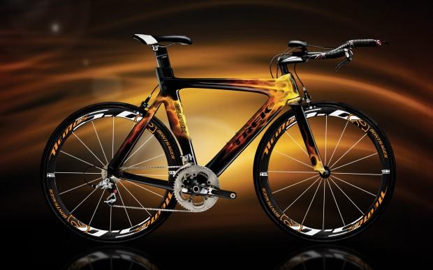 Обои – шоссйный велосипед TREK