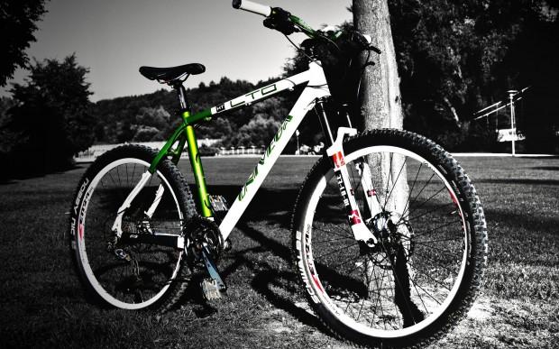 Обои – горный велосипед