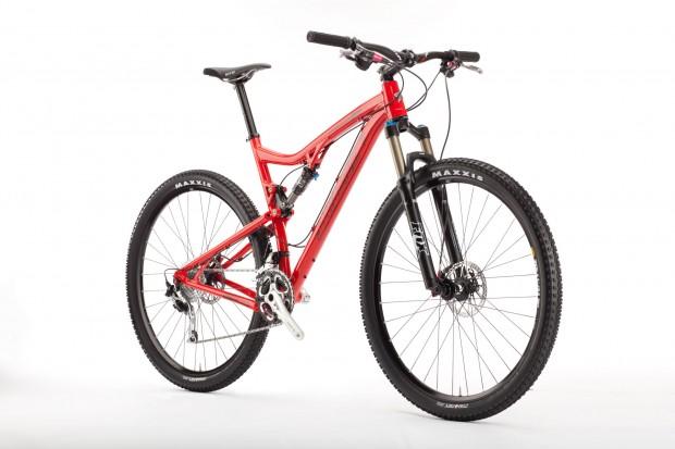 Bike Santa Cruz Tallboy вид спереди и сбоку