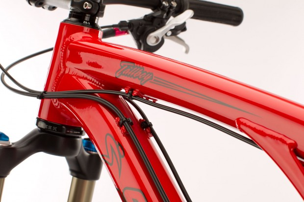Bike Santa Cruz Tallboy рама вид на вилку