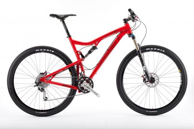 Bike Santa Cruz Tallboy вид сбоку