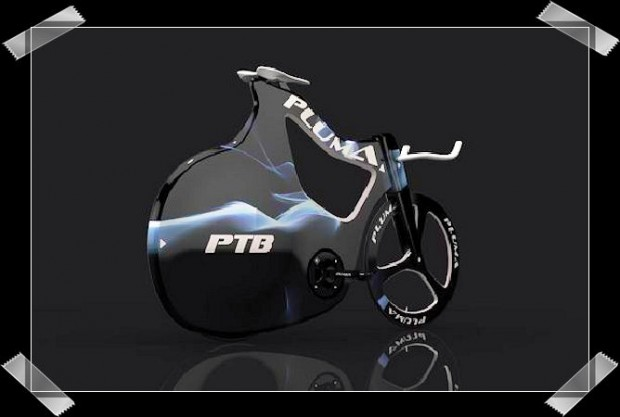 велосипед Pluma bicycle concept