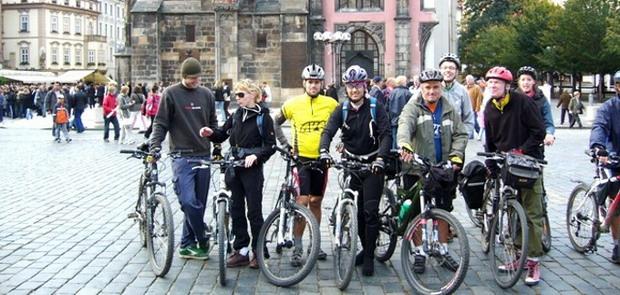 Прага велосипедная