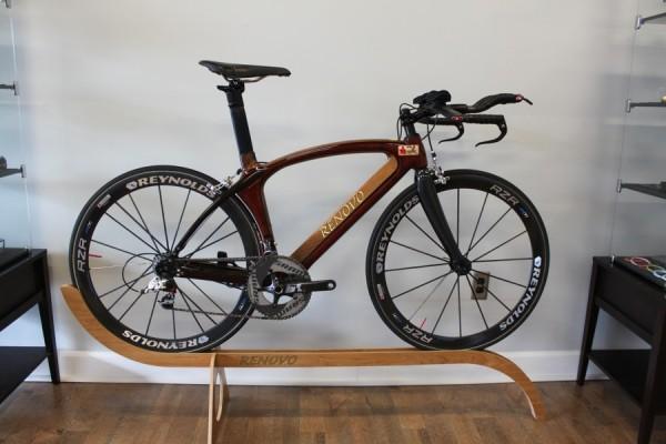 Деревянные велосипеды Renovo вид сбоку